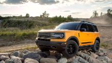 The Bronco Sport has a permanently attached roof and is available only in a four-door version.