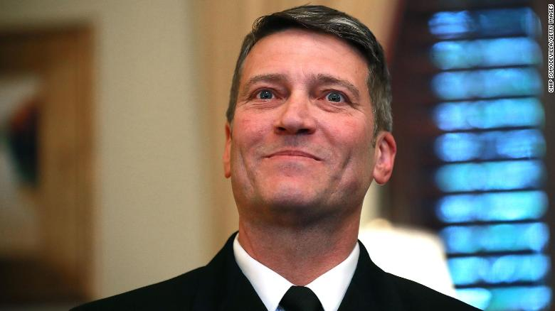 First on CNN: Rep. Ronny Jackson made sexual comments, drank alcohol and took Ambien while working as White House physician, Pentagon watchdog finds