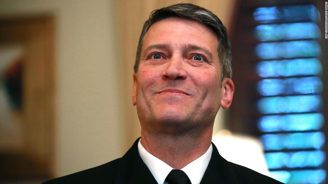 Rep. Ronny Jackson made sexual comments, drank alcohol and took Ambien while working as White House physician, Pentagon watchdog finds