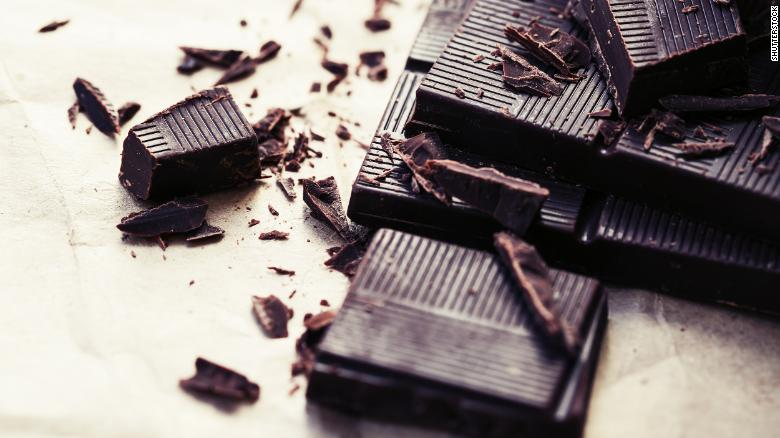 Dark chocolate is a good sort of indulgence.