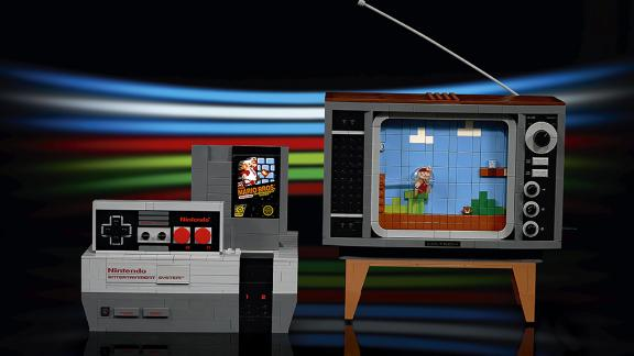 The Nintendo Entertainment System Gets The Lego Treatment Complete With A Super Mario Bros Game Pak