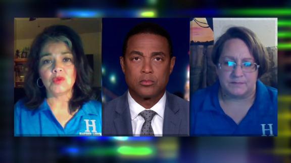 Teachers Jena Martinez and Angela Skillings were two of three teachers in an Arizona classroom to catch Covid-19.