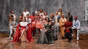 """Entertainment giant Netflix has turned its focus to the African continent. Its """"Made in Africa"""" collection features more than 100 titles from African creatives. The company tapped Kenyan entertainment veteran and film producer Dorothy Ghettuba (third row, second from the left) as its head of African Original Programming. """"We want our African stories to be watched across the globe,"""" she told CNN."""