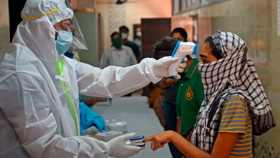 India sees devastating wave of infections in past four days
