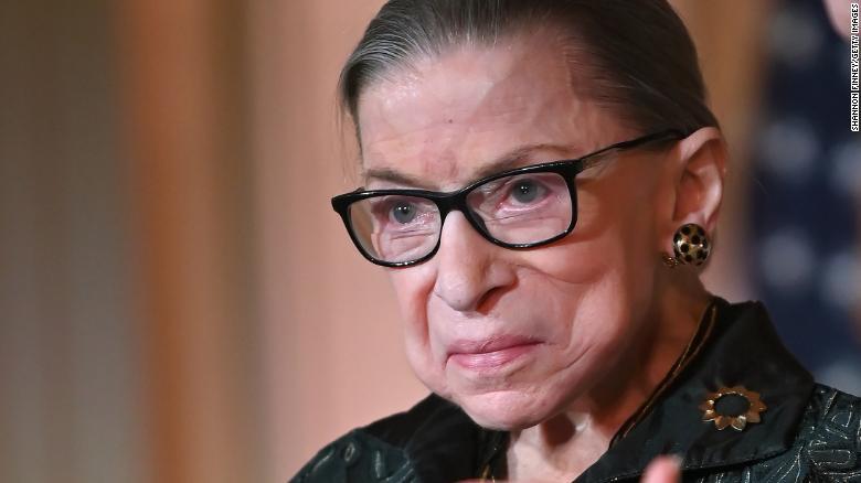 Supreme Court Announces Justice Ruth Bader Ginsburg S Death Cnnpolitics