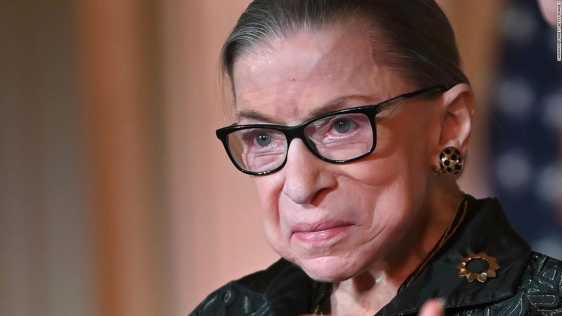 Justice Ginsburg, an icon of the Supreme Court, has died