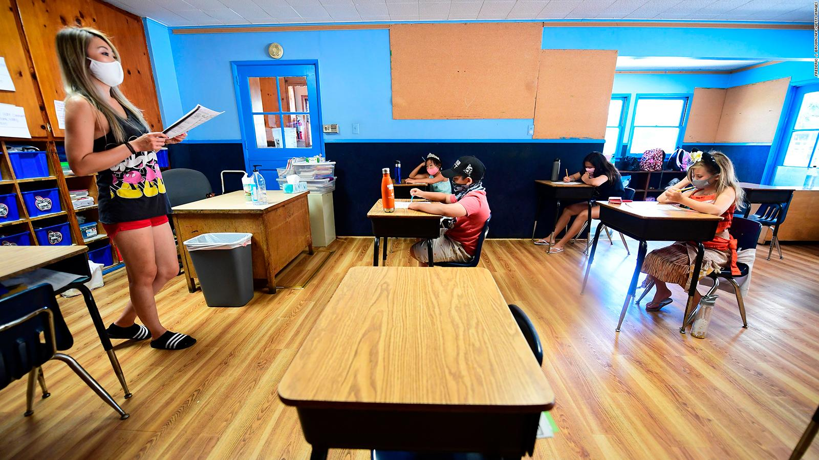 Schools Reopening Where Some Of The Country S Biggest School Districts Stand Cnn