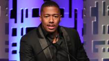 BEVERLY HILLS, CALIFORNIA - OCTOBER 24: Host Nick Cannon speaks onstage at The Los Angeles Mission Legacy Of Vision Gala at The Beverly Hilton Hotel on October 24, 2019 in Beverly Hills, California. (Photo by Rich Fury/Getty Images)