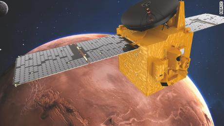 The UAE's Hope Probe will be the first of 3 missions to arrive at Mars this month