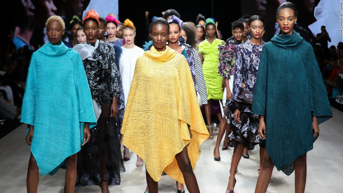 Nigerian Fashion Label Tiffany Amber Swaps Couture For Ppe Cnn