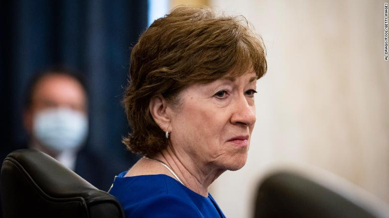 Susan Collins: Trump 'should have been straightforward with the American people'