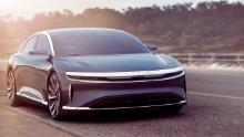 The Lucid Air will cost more than $100,000.