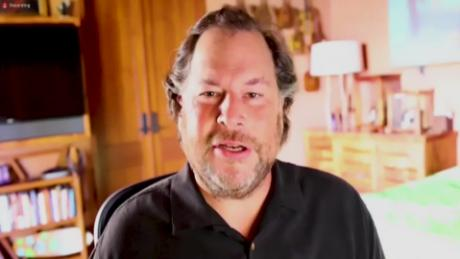 Salesforce CEO: People should be fined for not wearing a mask
