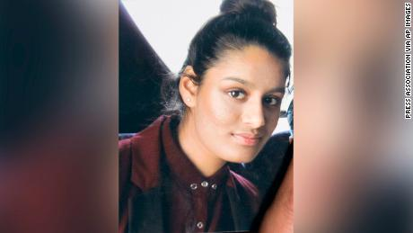 Shamima Begum is currently in a detention camp run by the Syrian Democratic Forces.