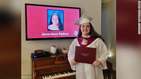 Jeanna was set to walk the stage at her high school graduation in late July.