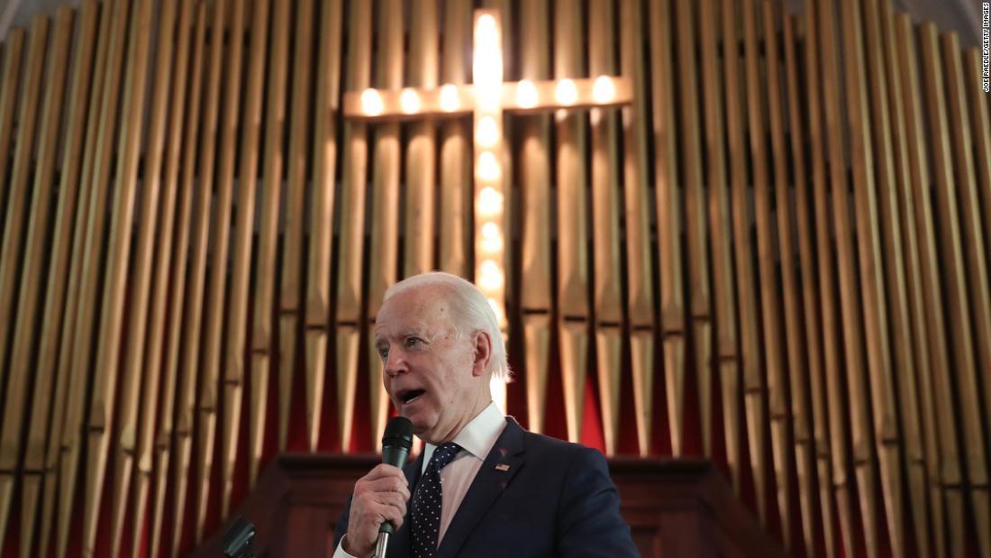 Joe Biden is a man of faith. That could help him win over some White  evangelicals. - CNNPolitics