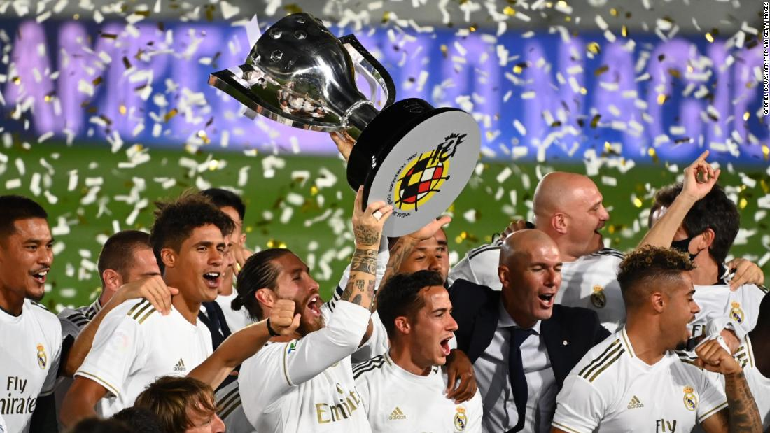Real Madrid Crowned La Liga Champion For First Time Since With Victory Over Villarreal CNN