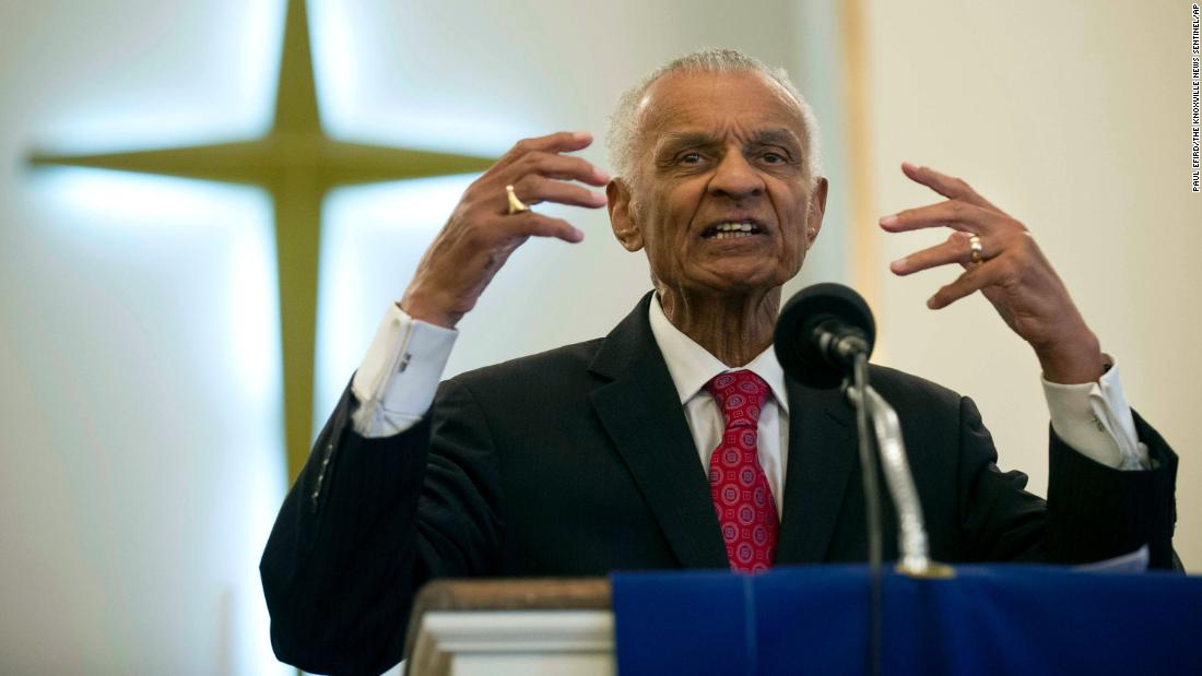 IMG REV. C. T. VIVIAN, Civil Rights Leader and Icon