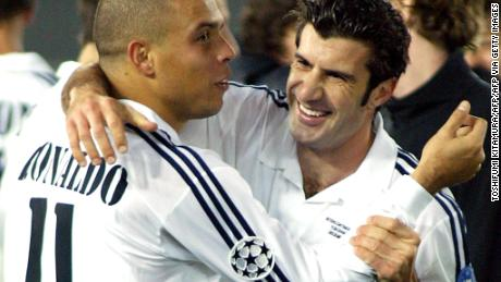The signing of Figo started the 'Galacticos' era at Real Madrid.