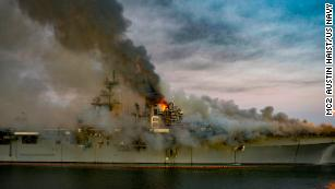 Analysis: It only took days for a fire to hinder the US Navy's Pacific fleet for years to come