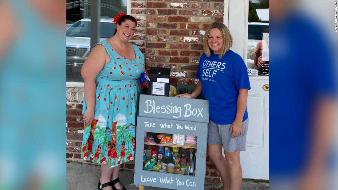 This 'blessing box' is answering prayers by providing food, necessities and hope in a small Georgia community