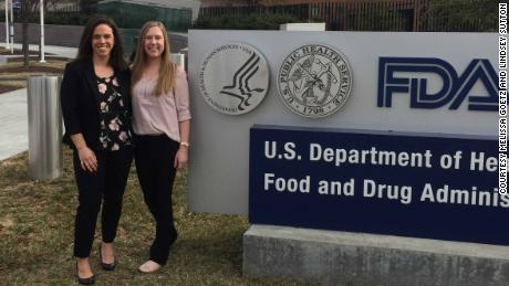 Melissa Goetz and Lindsey Sutton are campaigning to improve the US drug review process for rare diseases.
