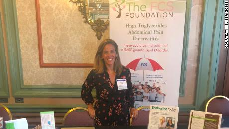 Melissa Goetz attended the PancreasFest 2019 conference.