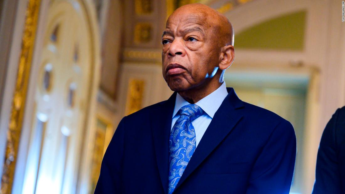 In essay published on day of his funeral, John Lewis calls on Americans to 'let freedom ring'
