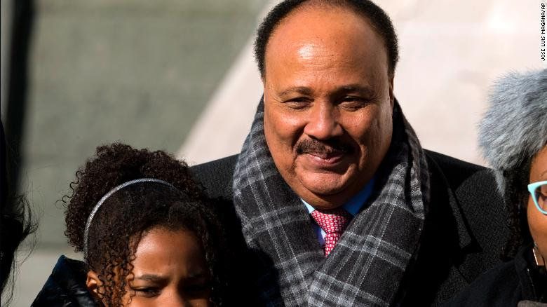 Martin Luther King III Activists and politicians honour John Lewis