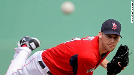 Daniel Bard, when he was with the Boston Red Sox. He last pitched in an MLB game on April 27, 2013.