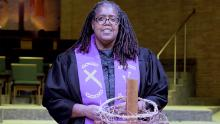 The Rev. Vickey Gibbs was ordained in December 2014 and became an associate pastor in 2015.