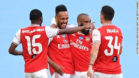A double for Aubameyang as Arsenal stuns Manchester City in FA Cup semifinal