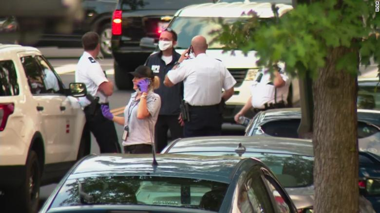 One person died and eight others were injured in what police say appears to be a targeted shooting in Washington, DC.