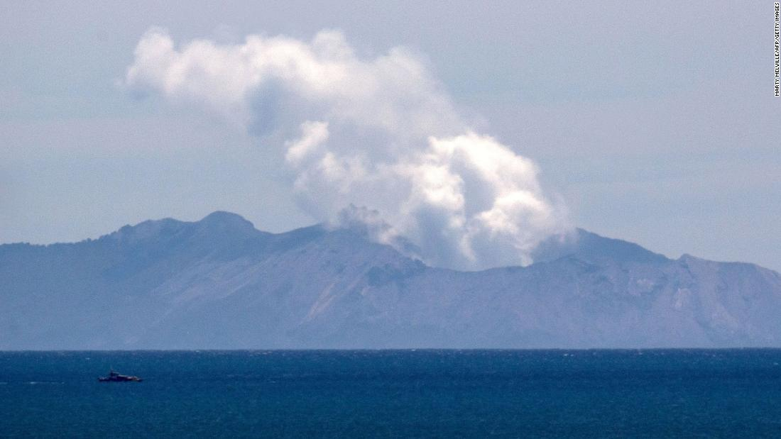 New Zealand officials file charges over deadly White Island volcano eruption - CNN