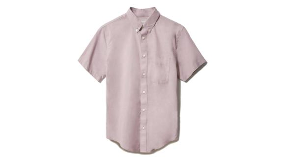The Slim Fit Performance Air Oxford Short-Sleeve Shirt