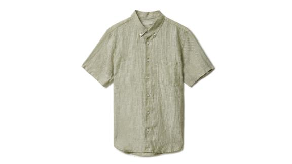 The Linen Short-Sleeve Standard Fit Shirt