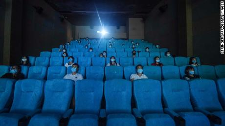 China's movie theaters are back in business