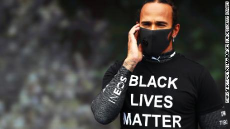 Lewis Hamilton is 'much prouder' of his push for equality than his fight for a seventh F1 title