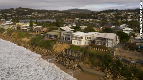 Beachfront homes in Wamberal have experienced damage during storms and sea swells for decades.