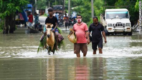 Tens of thousands displaced in Assam as floods heap misery on pandemic stricken region