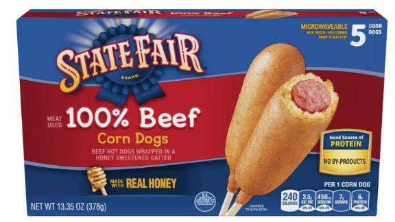 State Fair Beef Corn Dogs - 5pk/13.35oz