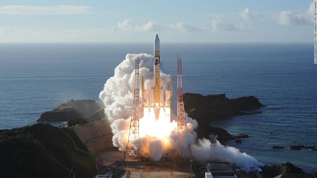 The Hope probe launched from Tanegashima Space Center in southwestern Japan. The UAE has not yet announced partners for the rocket or launch pad for its 2024 unmanned lunar mission.