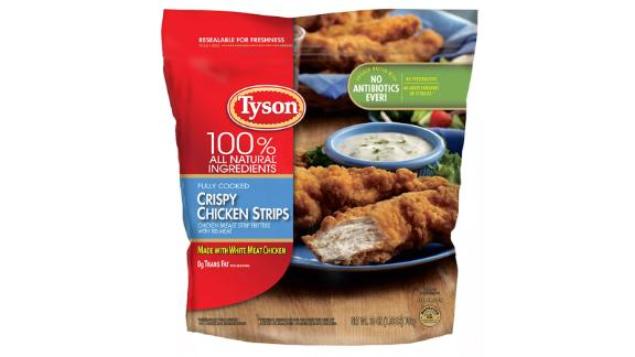 Tyson All Natural Crispy Frozen Chicken Strips - 25oz