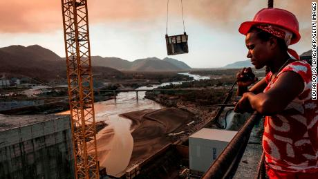 The Grand Ethiopian Renaissance Dam -- a 145-metre-high, 1.8-kilometre-long concrete colossus -- is set to become the largest hydropower plant in Africa.