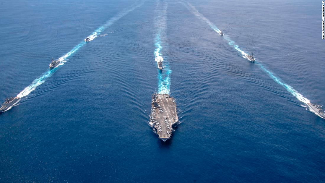 Washington orders US aircraft carrier to remain in Middle East amid Iranian threats – CNN