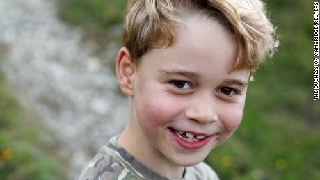 Prince George photos released to mark his 7th birthday - CNN