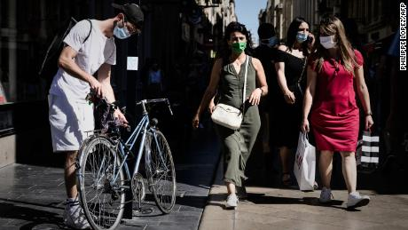 The mask debate is still raging in the US, but much of the world has moved on