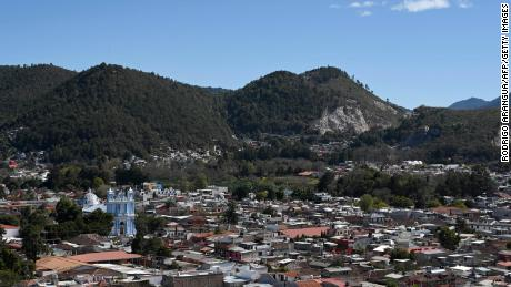 This file photo from January 10, 2020 shows the town of San Cristóbal de Las Casas in Mexico's southern Chiapas state.