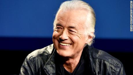"Jimmy Page se unió a The Rolling Stones en la pista ""Escarlata"""