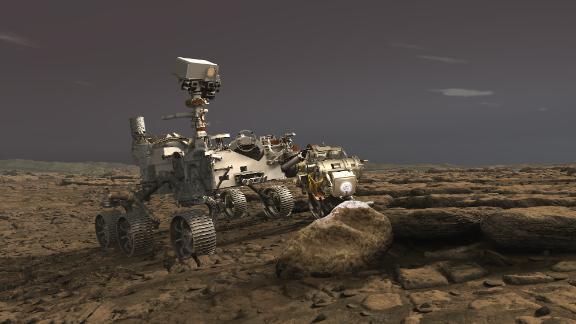 A rendering of NASA